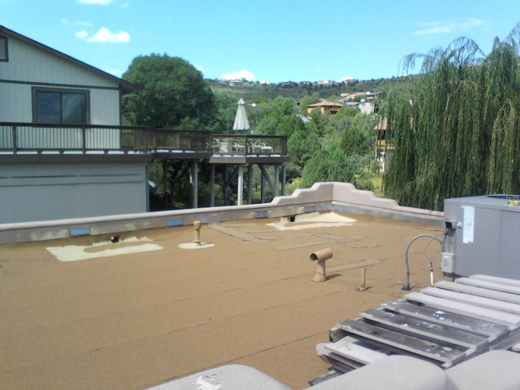 Flat Roof Installation : Laid rite roofing llc flat roof installation